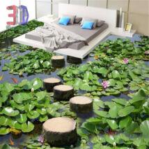 leveles tó farönkökkel
