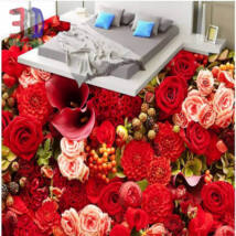 piros virágözön