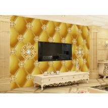 Aranyláncos párnázott fal