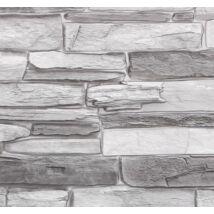 Szürke kőmintás falpanel (grey stone)