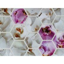 Orchidea mintás falpanel (orchidea)