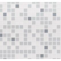 Szürke mozaik csempe falpanel