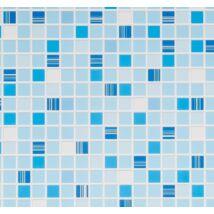 Kék mozaik csempe falpanel