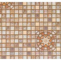 Arany barna mozaik csempe falpanel