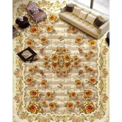 Arany rózsás szőnyeg