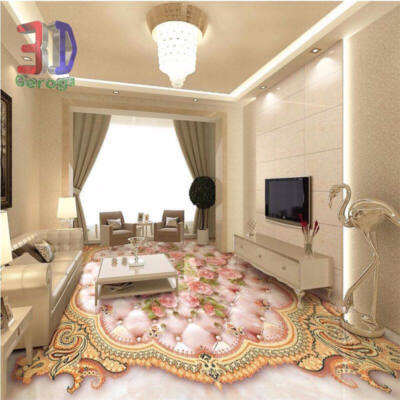 Rózsaszín virágos szőnyegminta