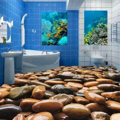 Barna vizes kövek