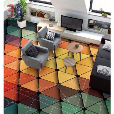 Színes mozaikpadló