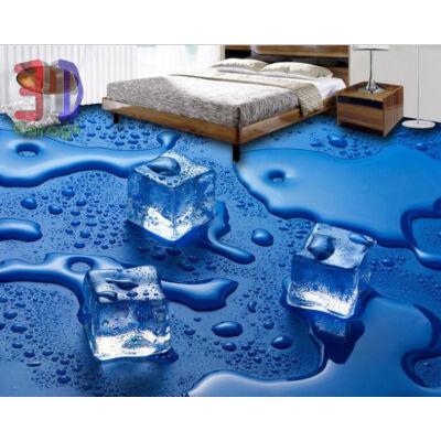 vizes jégkockák