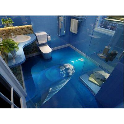 Kukucskáló delfin a víz alatt