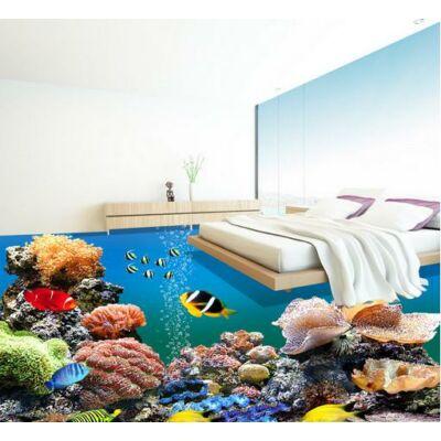 Korallok díszhalakkal