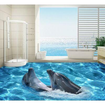 Játszadozó delfinpár