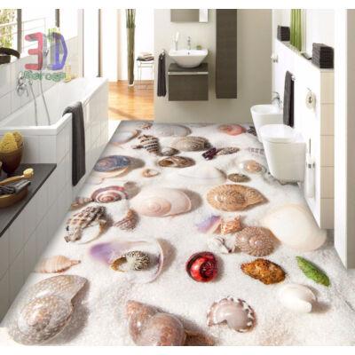 fehér homok kagylókkal