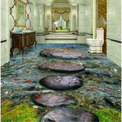 Kőjárda sekély vízben