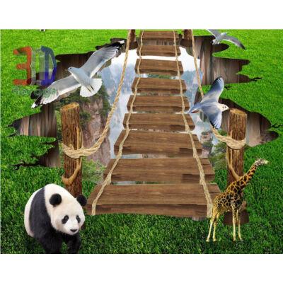 alpesi táj, panda maci