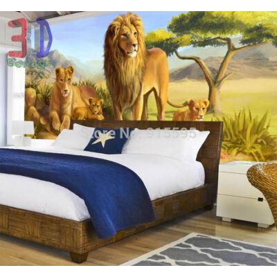 oroszlán család