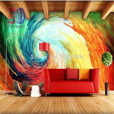színes fal