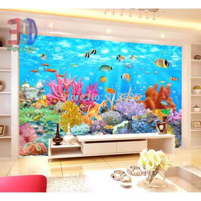 színes tengeri halak, delfinárium