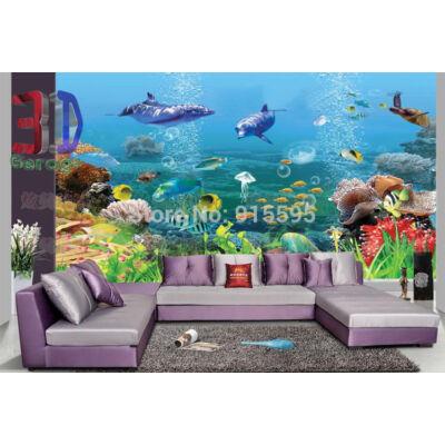 óceán világa, delfinek, kagylók