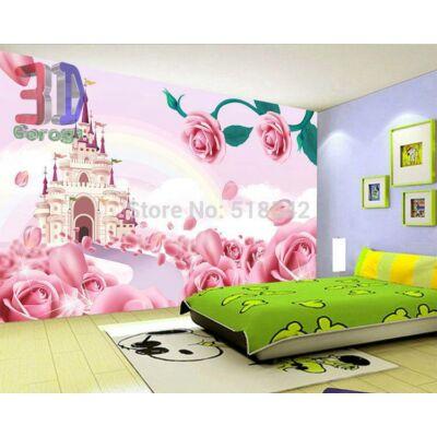 rózsaszín hercegnő kastély