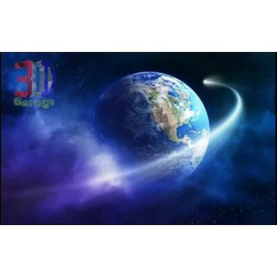 föld, üstökössel
