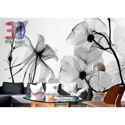 Fekete fehér virág