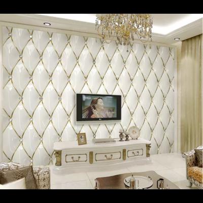 Aranyszállal varrott párnázott fal