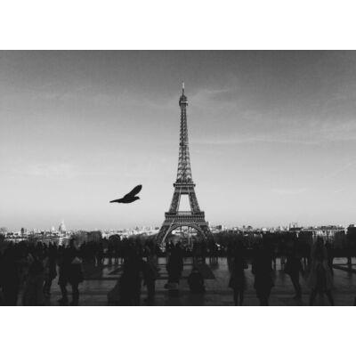 Az Eiffel torony feketén fehéren