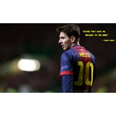 Lionel Messi, Barca
