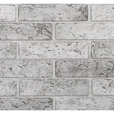 Szürke tégla falpanel (brick grey)