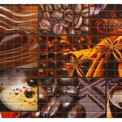 Kávé falpanel (coffee)