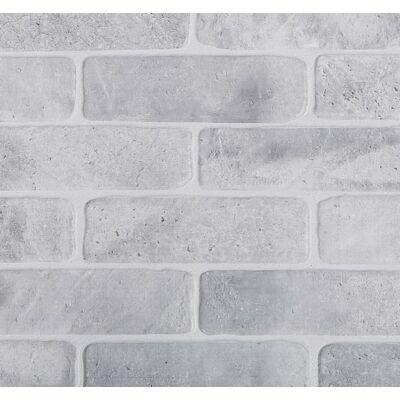 Szürke tégla falpanel (old brick grey)