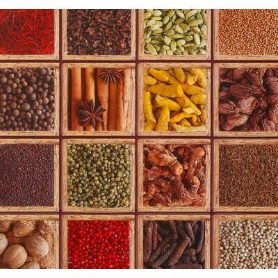 Fűszeres falpanel (spices)