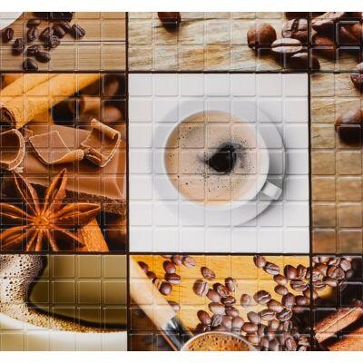 Kávé falpanel