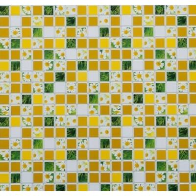 Mozaik virág falpanel