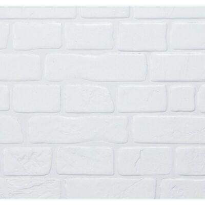 Fehér tégla falpanel